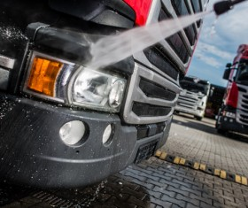 Vehicle cleaning Stock Photo 03