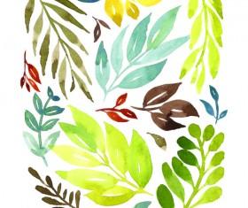 Watercolor Prints Stock Photo 05