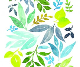 Watercolor Prints Stock Photo 07