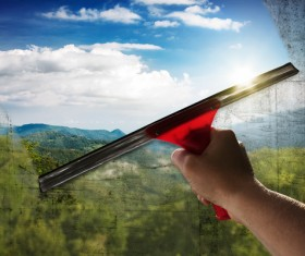 Window Cleaning Stock Photo 03