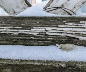 Winter Snow Texture Stock Photo 03
