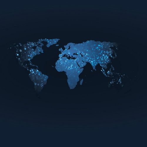 World map with dark blue background vector free download world map with dark blue background vector gumiabroncs Images