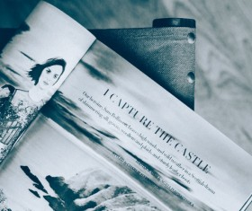 contemporary fashion magazine Stock Photo