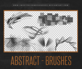 Abstract elements Photoshop Brushes