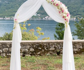 All kinds of beautiful wedding arch Stock Photo 04