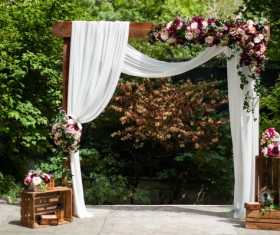 All kinds of beautiful wedding arch Stock Photo 06