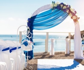 All kinds of beautiful wedding arch Stock Photo 09