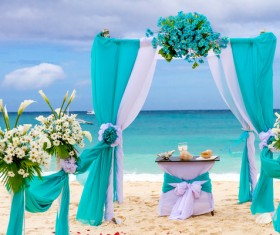 All kinds of beautiful wedding arch Stock Photo 12