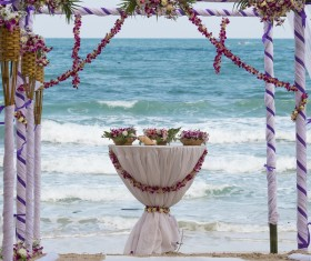 All kinds of beautiful wedding arch Stock Photo 14