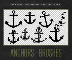 Anchors Photoshop Brushes