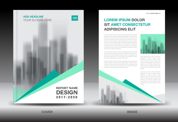 Brochure Vector For Free Download - Brochure free template download