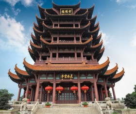 China Travel Yellow Crane Tower Stock Photo