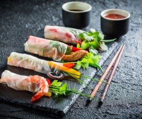 Chinese characteristic gourmet food Stock Photo 06
