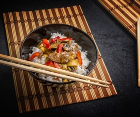 Chinese characteristic gourmet food Stock Photo 13