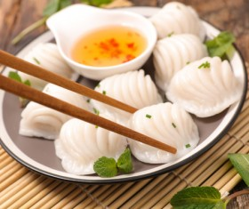 Chinese characteristic gourmet food Stock Photo 15
