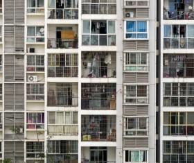 Classical apartment building Stock Photo