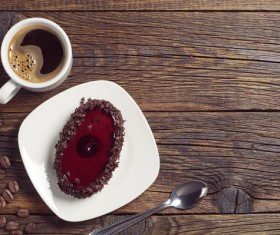 Coffee with delicious dessert Stock Photo 05