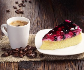 Coffee with delicious dessert Stock Photo 07