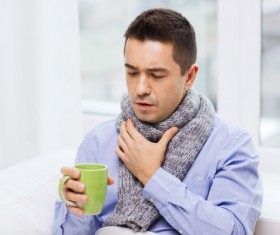 Colds man Stock Photo 01