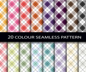 Color seamless pattern vintage vector