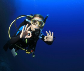 Diving Stock Photo 03