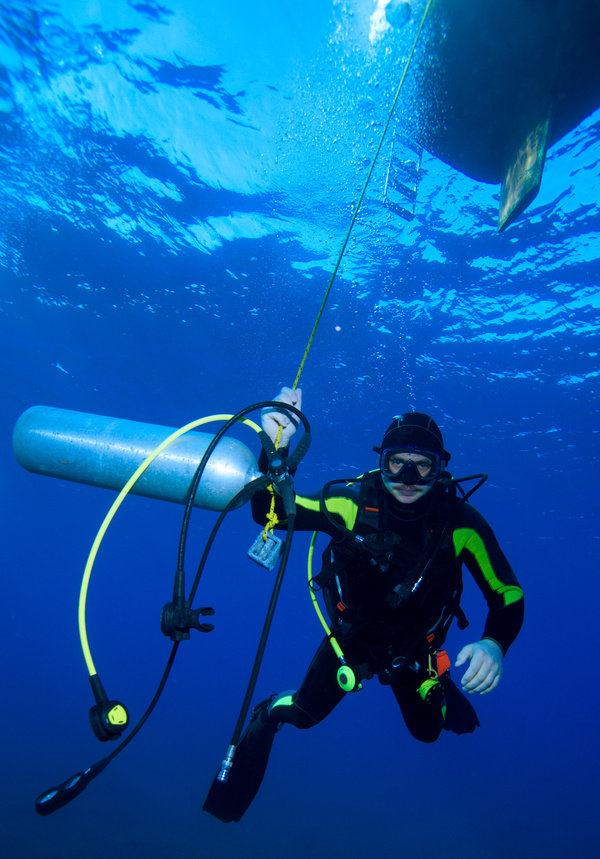 Diving Stock Photo 04