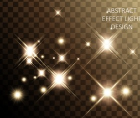 Effect light illustration design vector 01