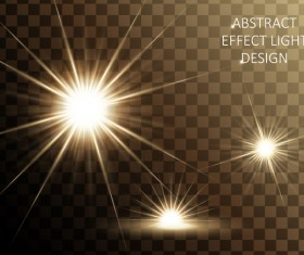 Effect light illustration design vector 02