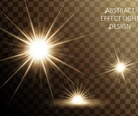 Effect light illustration design vector 02