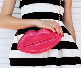 Fashion waist bag Stock Photo 02