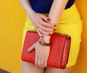 Fashion waist bag Stock Photo 03