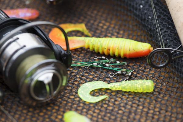 Fishing gear on the desktop stock photo 03 objects stock for Free fishing stuff