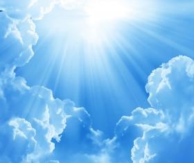 Glaring sunshine Stock Photo 01