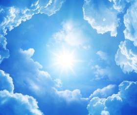 Glaring sunshine Stock Photo 02