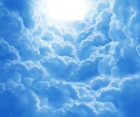 Glaring sunshine Stock Photo 03