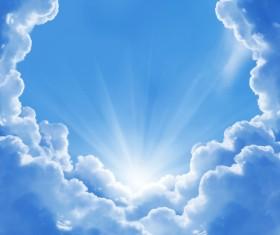Glaring sunshine Stock Photo 04