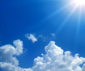 Glaring sunshine Stock Photo 05