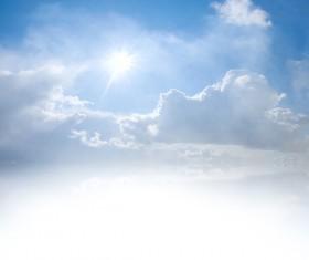 Glaring sunshine Stock Photo 06