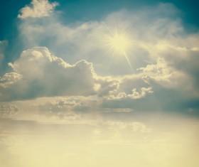 Glaring sunshine Stock Photo 07