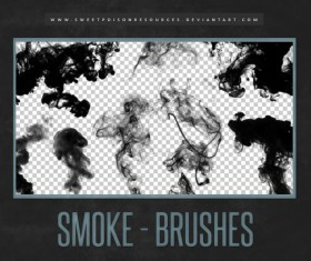 HD Smoke Photoshop Brushes