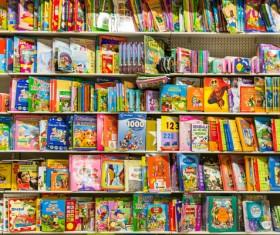 Library Children comic book Stock Photo