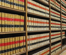 Library ancient books Stock Photo 01