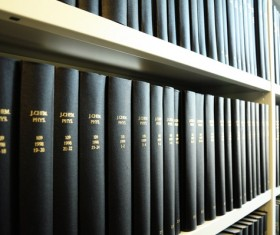 Library ancient books Stock Photo 02