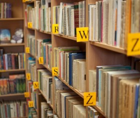 Library books Stock Photo 01