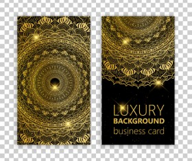 Luxury ornament card template vector 04