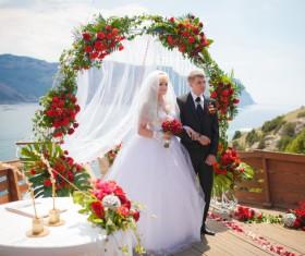 Newlyweds Stock Photo 02