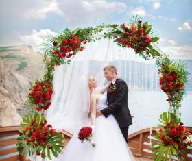 Newlyweds Stock Photo 03