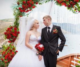 Newlyweds Stock Photo 04