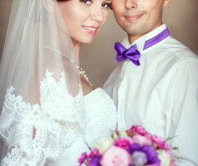 Newlyweds Stock Photo 06