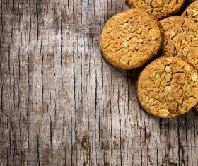 Nuts cookies Stock Photo 02